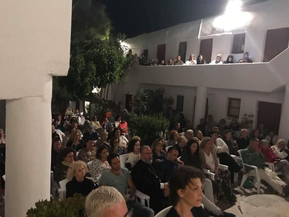 Μύκονος: Μαγευτική καλλιτεχνική βραδιά στη Μονή Παλαιοκάστρου Άνω Μεράς