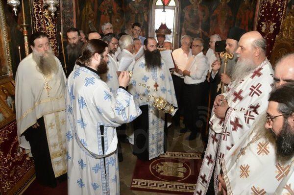 Αγίων Πάντων: Πανηγυρίζει η Ιερά Μονή Βαρλαάμ Μετεώρων