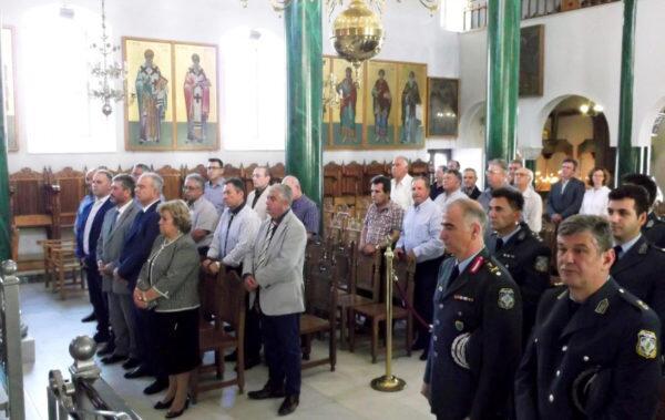 Εορτασμός Ημέρας προς τιμή των Αποστράτων Ελληνικής Αστυνομίας στον Ναό Αγίου Νικολάου Πολυγύρου