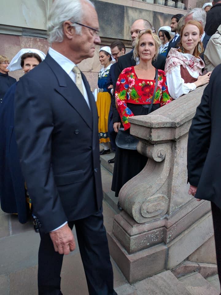 Ο Μητροπολίτης Κλεόπας στο Παλάτι για την Εθνική Εορτή της Σουηδίας