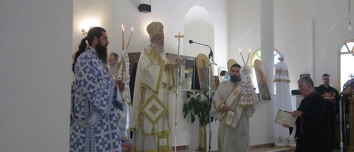 Φθιώτιδος Νικόλαος: Η Θεία Λειτουργία μας συνενώνει με τον Θεό και μας αγιάζει