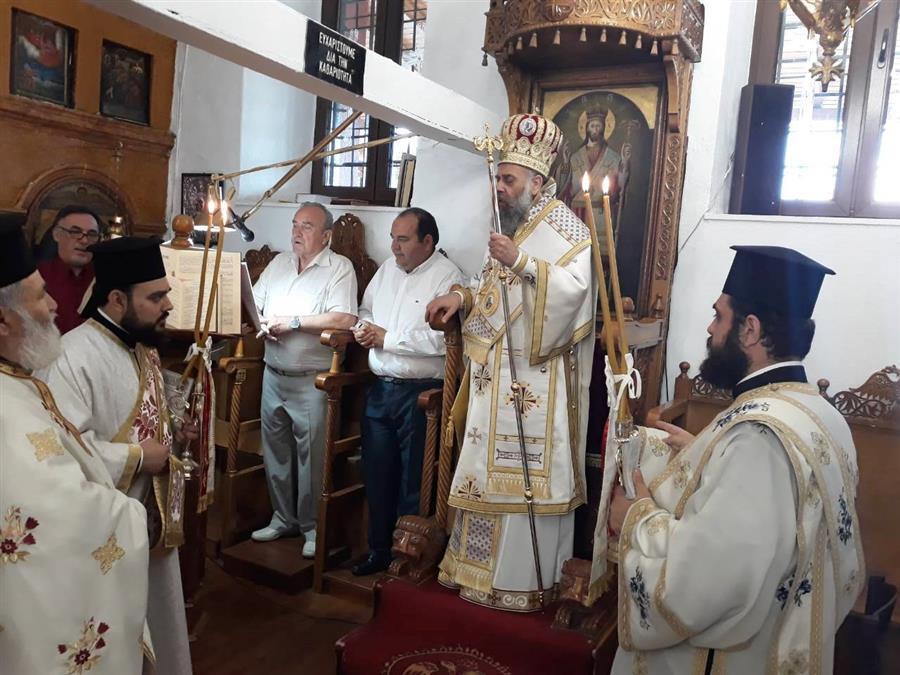 Κυριακή Γ΄ Ματθαίου στον Ιερό Ναό Αγίου Γεωργίου Τ.Κ. Σιτοχώρου - Χειροθεσία Αναγνώστη