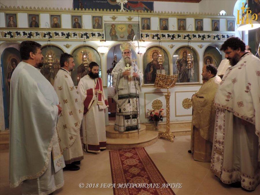 Πανήγυρις Αγίων Δώδεκα Αποστόλων στην Λαγκάδα Μηλιανών Άρτης