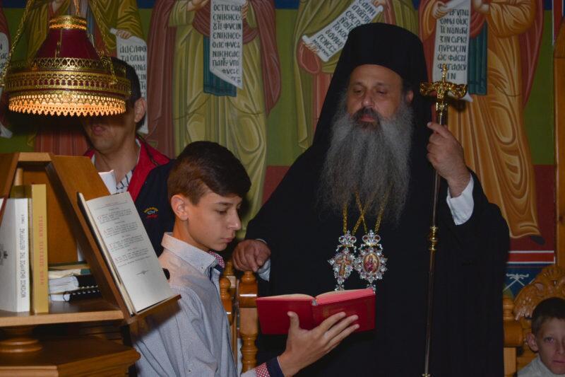 Tελέστηκαν τα εγκαίνια του Ιερού Ναού του Ησυχαστηρίου της Ιεράς Μονής Βαρλαάμ