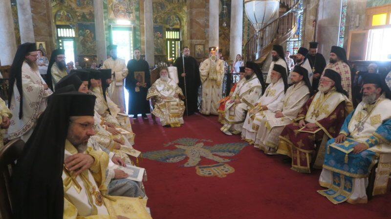 Αλεξάνδρεια: Πατριαρχική Θεία Λειτουργία στον Ιερό Ναό Ευαγγελισμού της Θεοτόκου