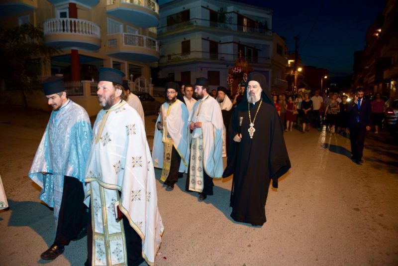 Λαμπρός Εορτασμός Ανακομιδής και Μετακομιδής Ιερών Λειψάνων Αγίου Ρηγίνου