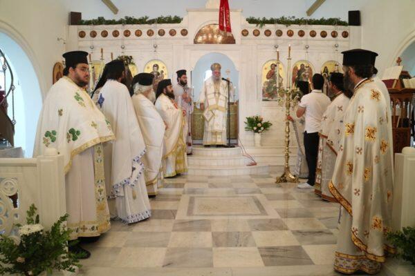 Παροναξίας Καλλίνικος και πλήθος πστών στον Ιερό Ναό Αγίου Αθανασίου του Παρίου
