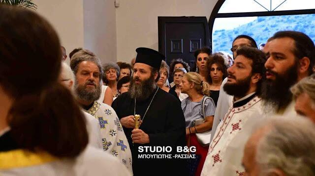 Άγιος Λουκάς ο Ιατρός: Πλήθος πιστών στον Εσπερινό στο Ναύπλιο
