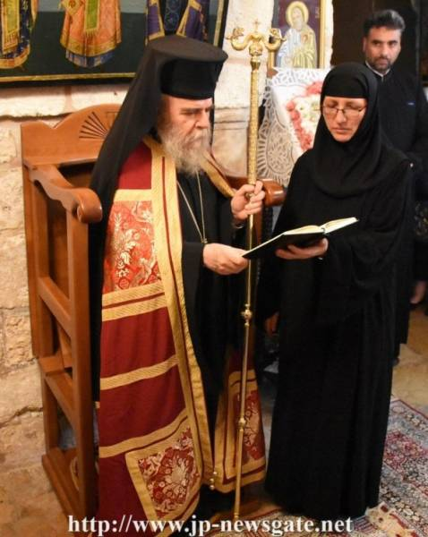 Η Εορτή των Αγίων Πάντων στο Πατριαρχείο Ιεροσολύμων