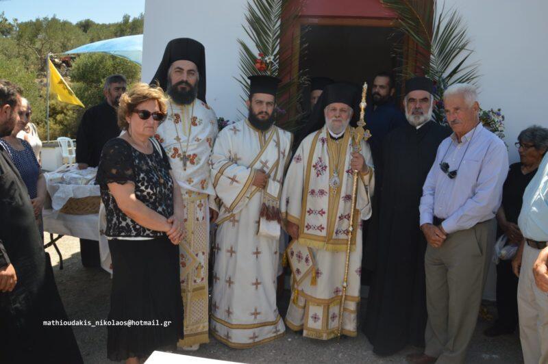 Εγκαίνια στον Ιερό Ναό Γενέσιον του Προδρόμου στους Κασσάνους Πεδιάδος