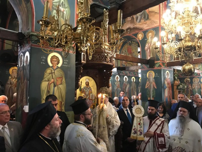Ο Οικουμενικός Πατριάρχης τίμησε τον Άγιο Ιάκωβο Τσαλίκη - Συγκλόνισε ο λόγος του Χαλκίδος