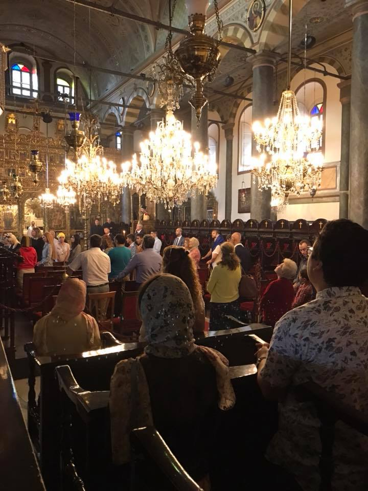 Χοροστασία Σμύρνης Βαρθολομαίου σήμερα στον Πατριαρχικό Ναό