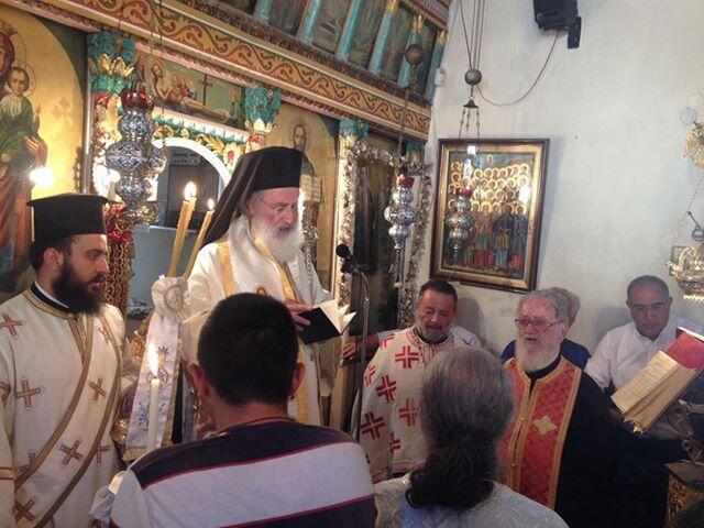 Αρχιερατική Θεία Λειτουργία και σαρανταήμερο μνημόσυνο στη Μαχαιρά Μονοφατσίου
