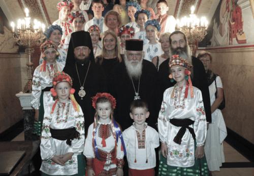 Τον Αρχιεπίσκοπο επισκέφθηκαν παιδιά από την Ουκρανία
