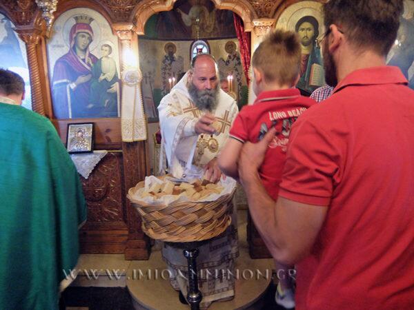 Ιωάννινα: Θεία Λειτουργία στα Καρδαμίτσια