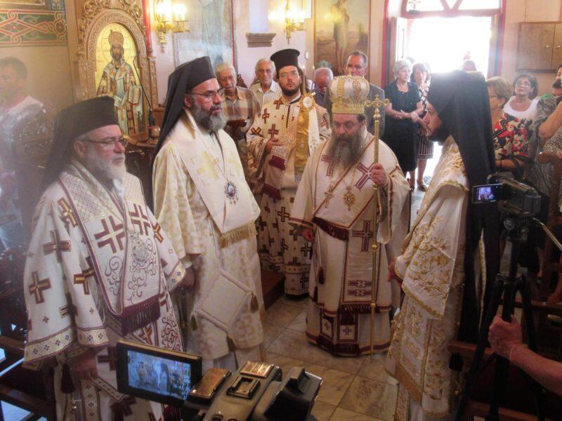 Νίσυρος: Πανηγυρικά εορτάστηκε η μνήμη του Αγίου Νεομάρτυρος Νικήτα του Νισυρίου