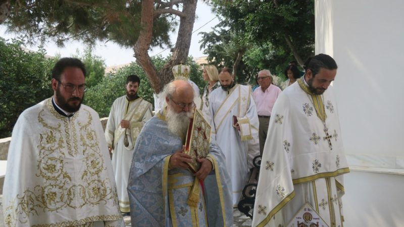 Πλήθος πιστών στην Ιερά Μονή Αγίου Ιωάννου Ταλάντων