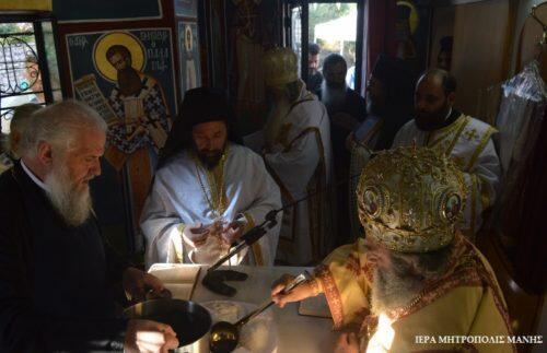 Εγκαίνια Ναού από τους Μητροπολίτες Μάνης και Αργολίδος στην Μ. Μαντίνεια