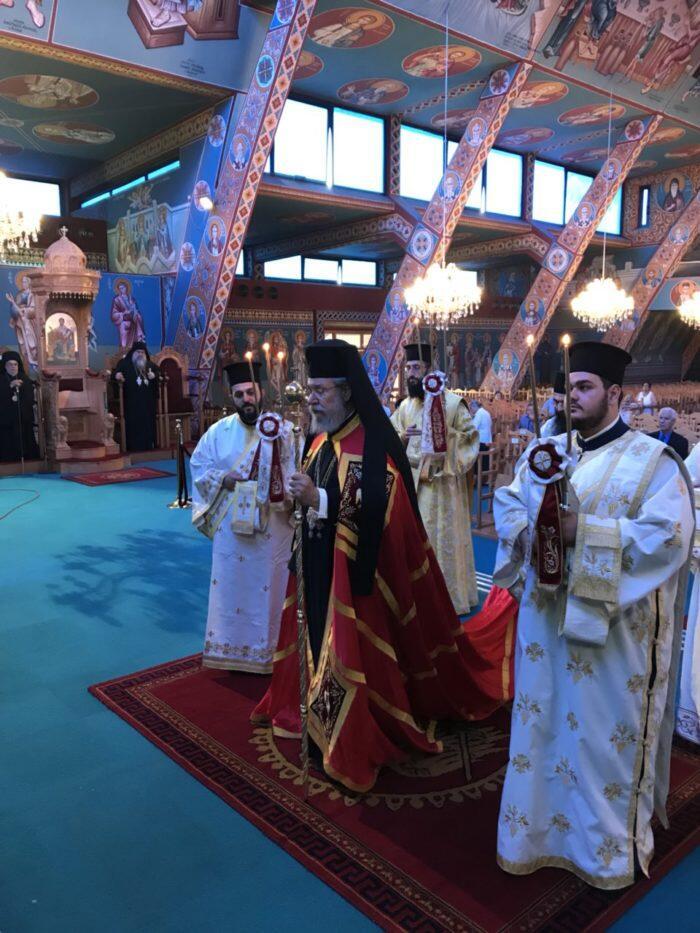 Λαμπρός εορτασμός στη Θρονική Εορτή της Εκκλησίας της Κύπρου