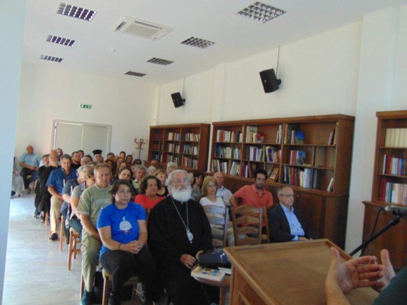 Ομιλία με θέμα τη «Άνοια – Νόσος Alzheimer και τρόποι αντιμετώπισης» στην Μητρόπολη Αρκαλοχωρίου