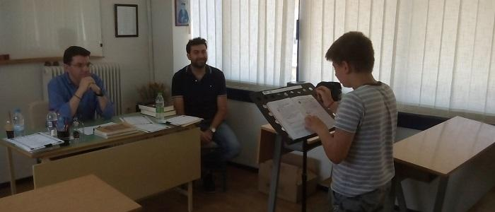 Προαγωγικές - Πτυχιακές Εξετάσεις στη Σχολή Βυζαντινής Μουσικής της Μητρόπολης Φθιώτιδος
