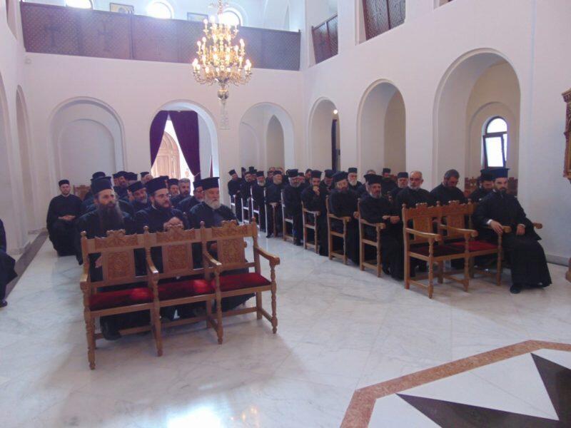 Ιερατική Σύναξη και εορτή Συνδέσμου Κληρικών της Ιεράς Μητροπόλεως Αρκαλοχωρίου