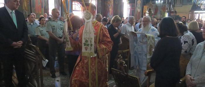 Εορτή των Αγίων Αποστόλων στην Πανηγυρίζουσα Ενορία στη Λαμία