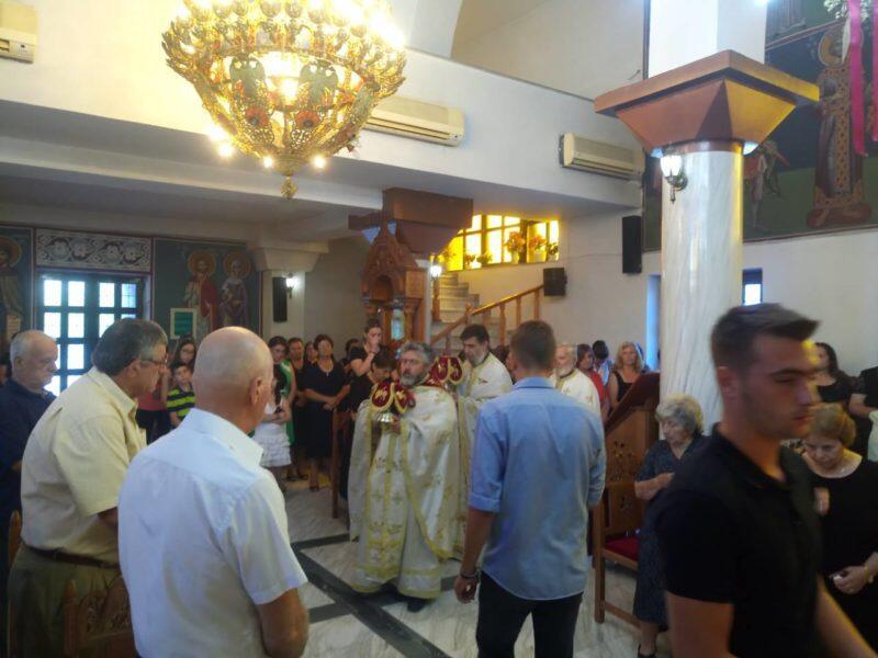 Εορτή του Γενεθλίου του Τιμίου Προδρόμου στη Μητρόπολη Παραμυθίας