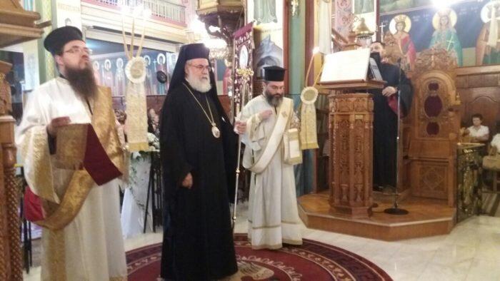 Άφατη θλίψη στο Πολυαρχιερατικό Μνημόσυνο της Ευφροσύνης Κοσμά αδελφής του π. Αθανάσιου