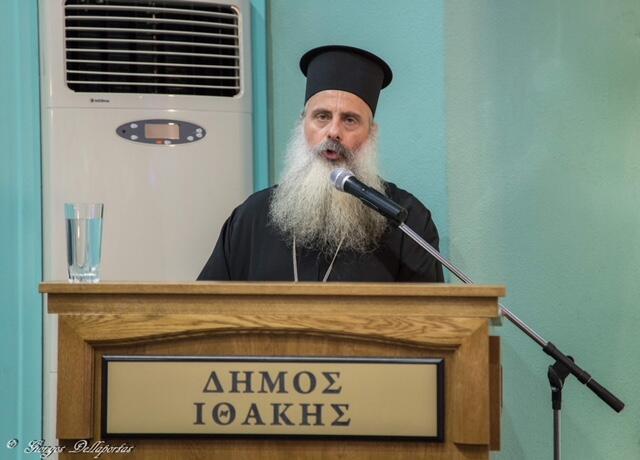 Πραγματοποιήθηκε η ομιλία του Αρχιμ. Θεοδοσίου Τσιτσιβού στον Δημοτικό Κινηματογράφο Βαθέος Ιθάκης