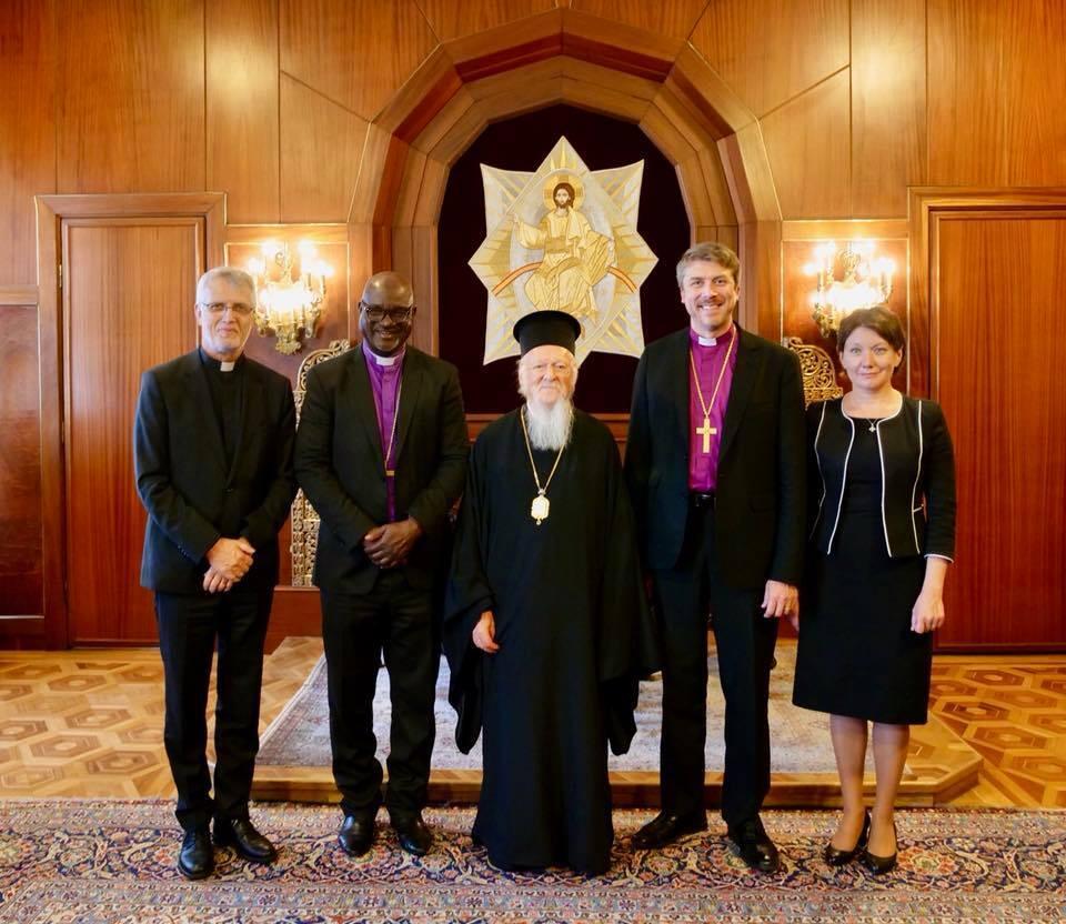 Στο Φανάρι η Ηγεσία της Λουθηρανικής Παγκόσμιας Ομοσπονδίας