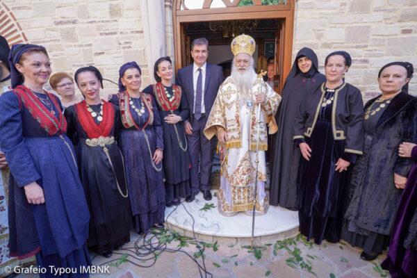 Πανηγύρισε η Ιερά Μονή Αγίων Πάντων Βεργίνης