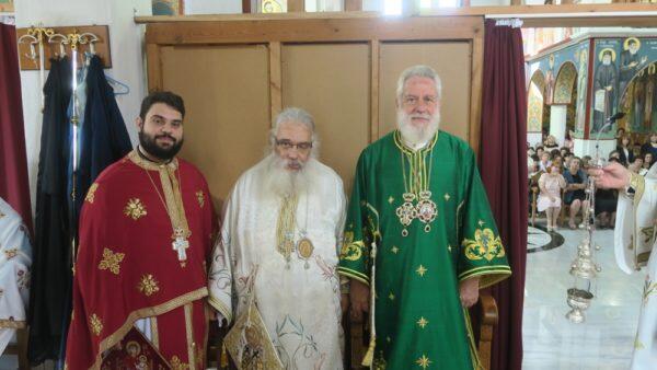 Αριδαία: Στον Ενοριακό Ιερό Ναό του Αγίου Δωροθέου ο Μητροπολίτης Σύρου