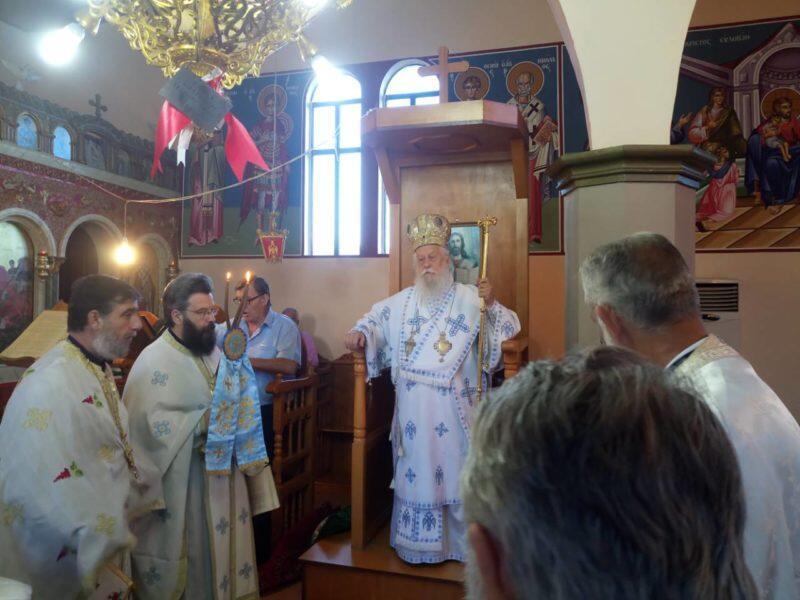 Λαμπρή Εορτή των Αγίων Αποστόλων Πέτρου και Παύλου στη Μητρόπολη Παραμυθίας
