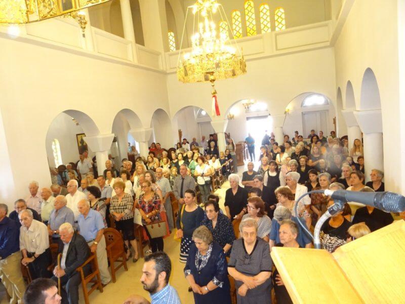 Με λαμπρότητα εορτάσθηκαν τα ονομαστήρια του Μητροπολίτου Ιεραπύτνης Κυρίλλου