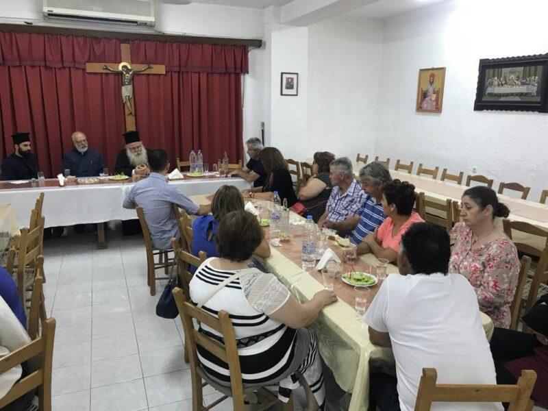 Συνάντηση του Ιεραπύτνης Κυρίλλου με το Δ.Σ. του Συλλόγου Πολυτέκνων Ιεράπετρας