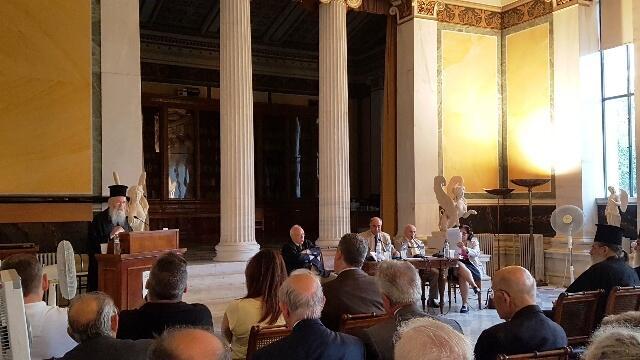 Η εισήγηση του Μητροπολίτη Ναυπάκτου στην Ακαδημία Αθηνών για τα θρησκευτικά