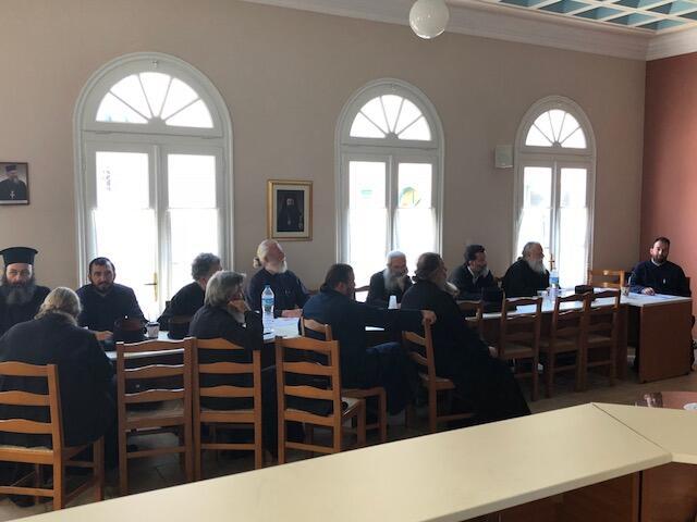 Ξεκίνησαν τα Επιμορφωτικά Σεμινάρια των κληρικών της Μητρόπολης Λευκάδος