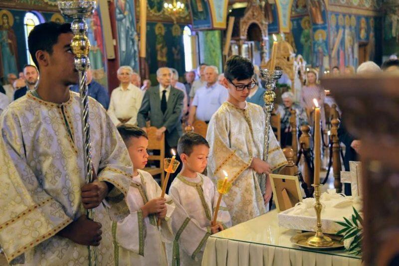 Ναύπακτος: Αρχιερατική Θεία Λειτουργία για τον Άγιο Λουκά τον Ιατρό