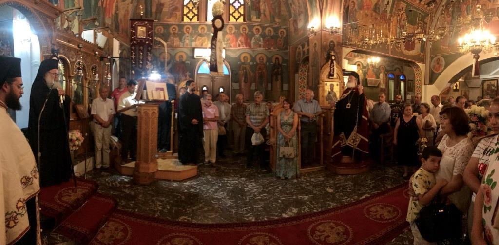 Ιεράπετρα: Ο Αρχιερατικός Εσπερινός της πανηγύρεως του Ιερού Ναού Παναγίας Ελεούσης