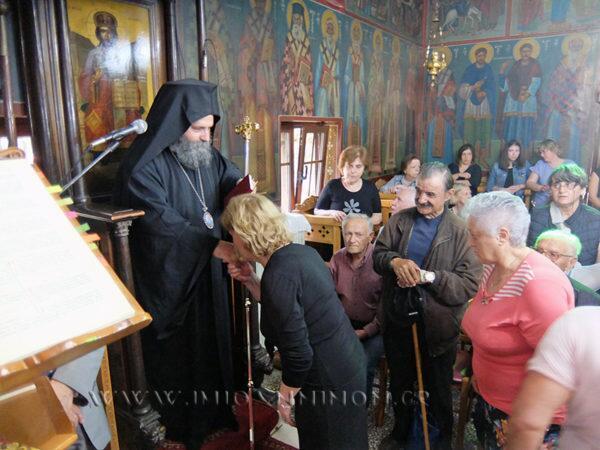 Ο Ιωαννίνων Μάξιμος σε Ασβεστοχώρι, Γηροκομείο και Προσκύνημα