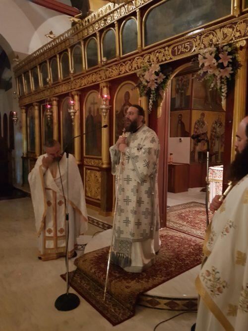 Τρίκαλα: Αγρυπνία προς τιμήν της Υπεραγίας Θεοτόκου της επικαλουμένης «Ελευθερώτριας» στον Ναό Αγίων Κωνσταντίνου και Ελένης