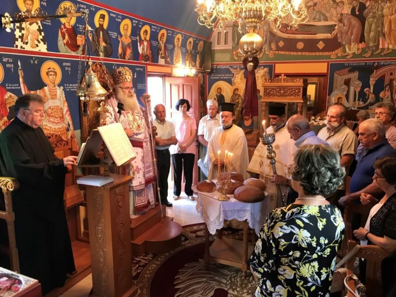 Πανηγύρισε ο Ναός Τιμίου Προδρόμου στις «Κουτσολόπετρες» Ρούσσας Εκκλησίας Σητείας