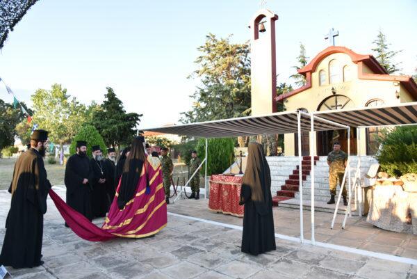 """Αλεξανδρούπολη: Πανήγυρις Παρεκκλησίου Προφήτου Ηλία στο Στρατόπεδο """"Κανδηλάπτη"""""""