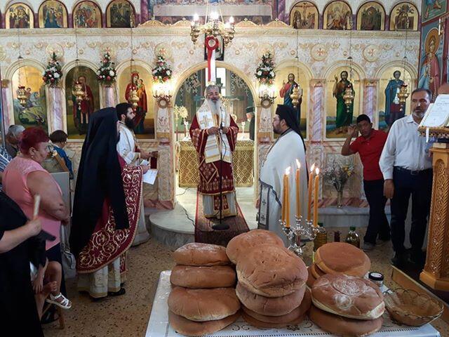 Πανήγυρις Ιερού Ναού Αγίου Παντελεήμονος Παλαγίας