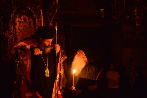 Ο Μητροπολίτης Λαγκαδά Ιωάννης στο Άγιο Όρος