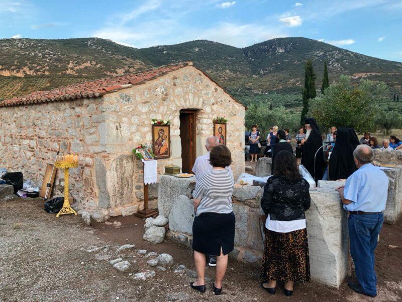 Εορτή Αγίας Ειρήνης Χρυσοβαλάντου στη Μητρόπολη Θηβών