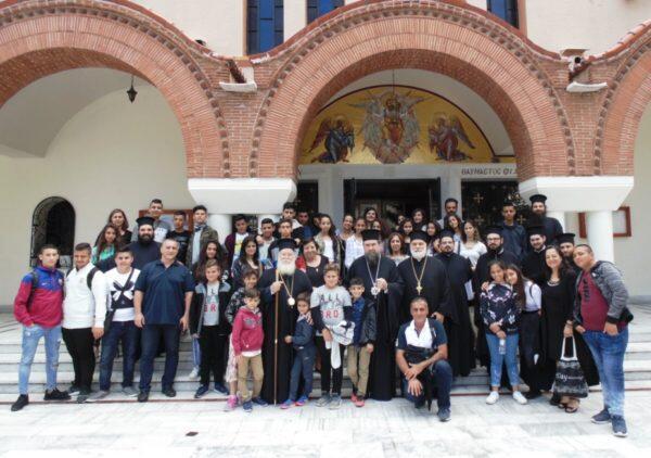Φιλοξενία νέων από Πατριαρχείο Ιεροσολύμων στη Μητρόπολη Σερρών