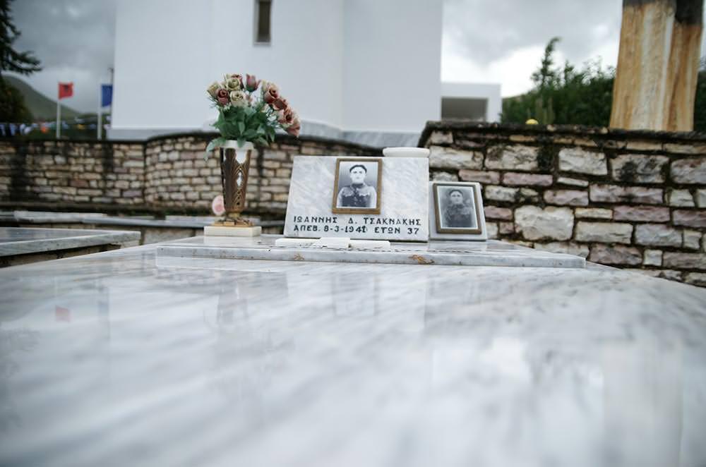 Ενταφιάστηκαν οστά 100 Ελλήνων στρατιωτών