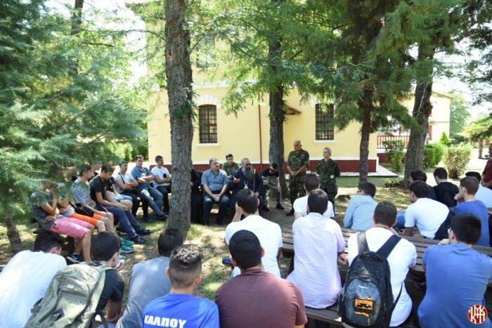 Εξόρμηση μαθητών λυκείου και φοιτητών από την Ι. Μ. Κίτρους στο Μουσείο Βαλκανικών Πολέμων Θεσσαλονίκης